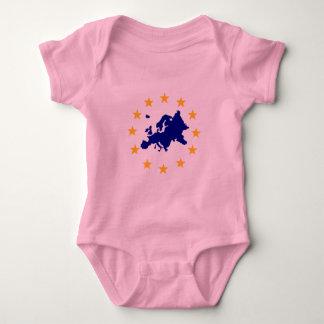 Europe Baby Bodysuit