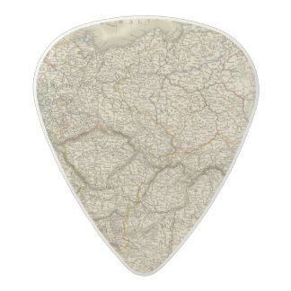 Europe, Centra lAustria, Germany Acetal Guitar Pick