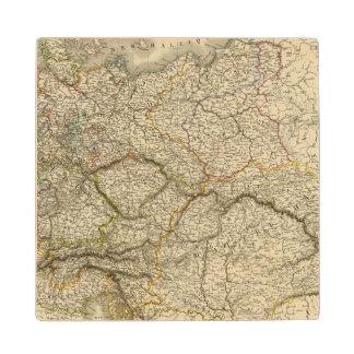 Europe, Centra lAustria, Germany Maple Wood Coaster