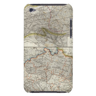 Europe Climate Map iPod Touch Case-Mate Case
