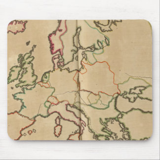 Europe Climate Mouse Mat