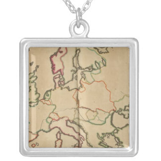 Europe Climate Silver Plated Necklace