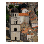 Europe, Croatia. Mediaeval walled city of