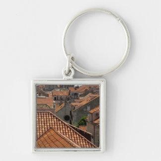Europe, Croatia. Medieval walled city of 2 Key Ring