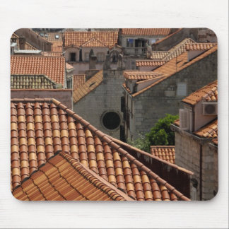 Europe, Croatia. Medieval walled city of 2 Mouse Mat
