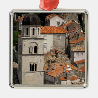 Europe, Croatia. Medieval walled city of Christmas Ornament