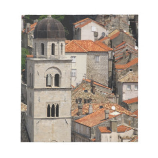 Europe, Croatia. Medieval walled city of Notepad