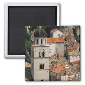Europe, Croatia. Medieval walled city of Square Magnet