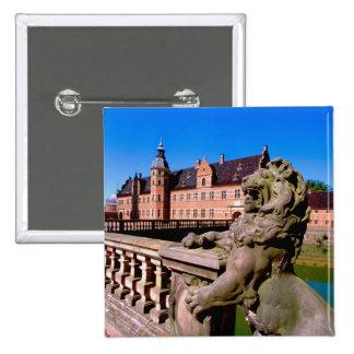 Europe, Denmark, Copenhagen aka Kobenhaven), 15 Cm Square Badge