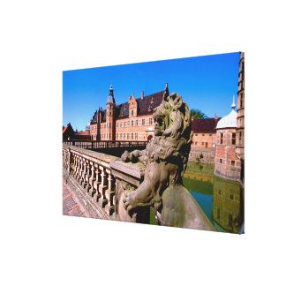 Europe, Denmark, Copenhagen aka Kobenhaven), Stretched Canvas Print