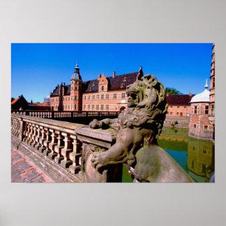 Europe, Denmark, Copenhagen aka Kobenhaven), Poster