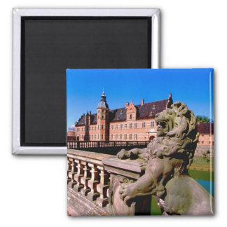 Europe, Denmark, Copenhagen aka Kobenhaven), Square Magnet