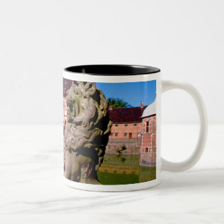 Europe, Denmark, Copenhagen aka Kobenhaven), Two-Tone Coffee Mug