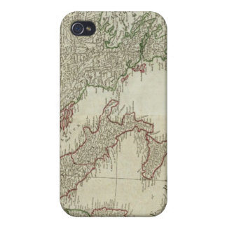 Europe divided into its kingdoms, empires iPhone 4 covers