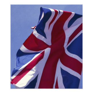 Europe, England, British flag Photo Print