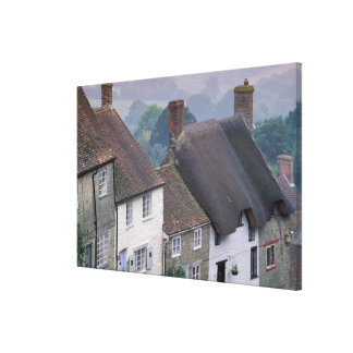 Europe, England, Dorset, Gold Hill, Shaftesbury. 2 Stretched Canvas Print