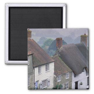Europe, England, Dorset, Gold Hill, Shaftesbury. 2 Magnet