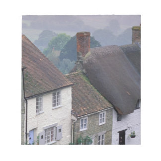 Europe, England, Dorset, Gold Hill, Shaftesbury. 2 Notepad