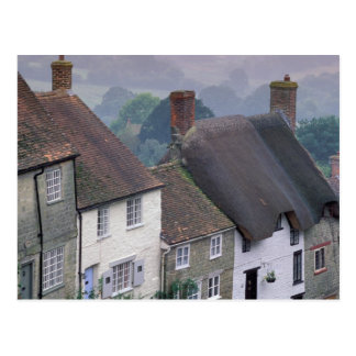 Europe, England, Dorset, Gold Hill, Shaftesbury. 2 Postcard