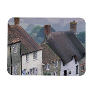 Europe, England, Dorset, Gold Hill, Shaftesbury. 2 Rectangular Photo Magnet
