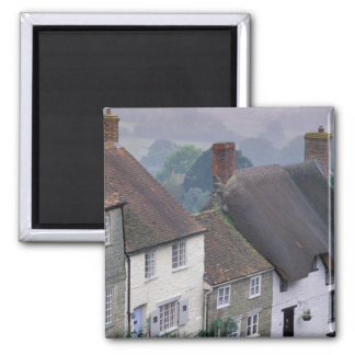 Europe, England, Dorset, Gold Hill, Shaftesbury. 2 Square Magnet