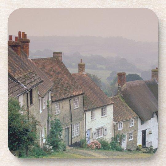 Europe, England, Dorset, Gold Hill, Shaftesbury. Coaster