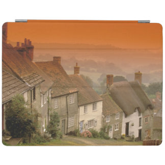 Europe, England, Dorset, Shaftesbury. Gold hill iPad Cover