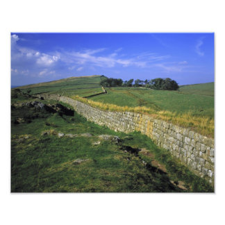 Europe, England, Hadrian's Wall. The stones of Photo Print