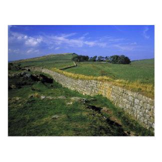 Europe, England, Hadrian's Wall. The stones of Postcard