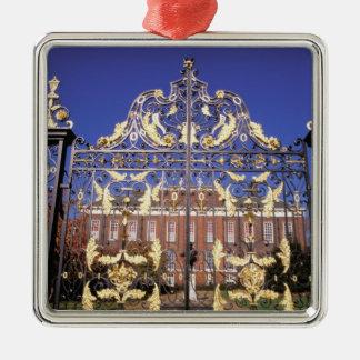 Europe, England, London. Gilded gate outside of Christmas Ornament