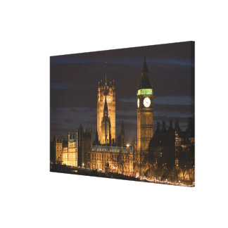 Europe, ENGLAND, London: Houses of Parliament / 2 Gallery Wrapped Canvas