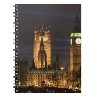 Europe, ENGLAND, London: Houses of Parliament / 2 Spiral Notebook