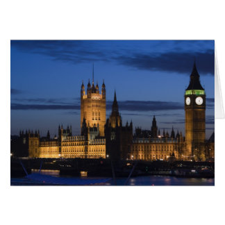 Europe, ENGLAND, London: Houses of Parliament / Card