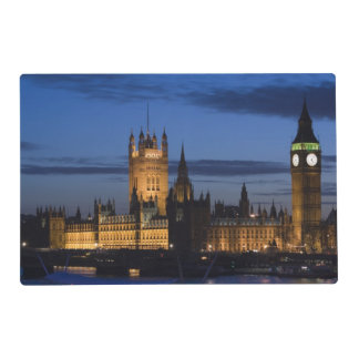 Europe, ENGLAND, London: Houses of Parliament / Laminated Place Mat