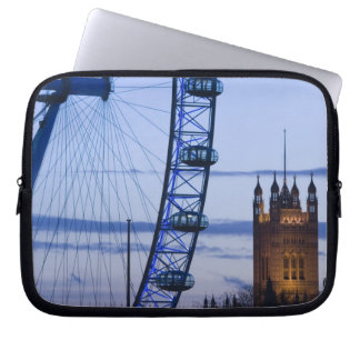 Europe, ENGLAND, London: Houses of Parliament Laptop Sleeve