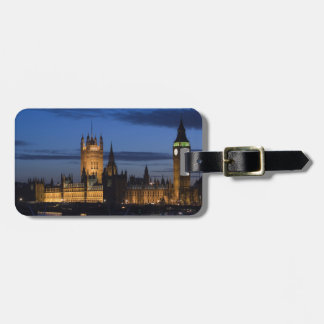 Europe, ENGLAND, London: Houses of Parliament / Luggage Tag