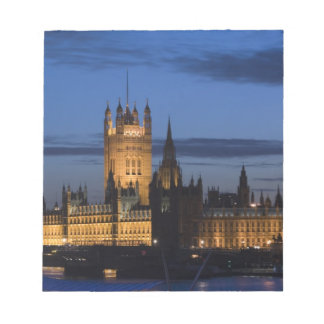 Europe, ENGLAND, London: Houses of Parliament / Notepad