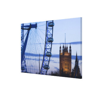 Europe, ENGLAND, London: Houses of Parliament Stretched Canvas Prints