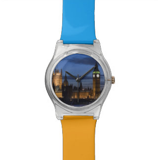 Europe, ENGLAND, London: Houses of Parliament / Watch