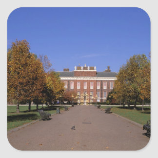 Europe, England, London. Kensington Palace in Square Sticker