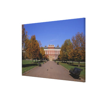 Europe, England, London. Kensington Palace in Stretched Canvas Print