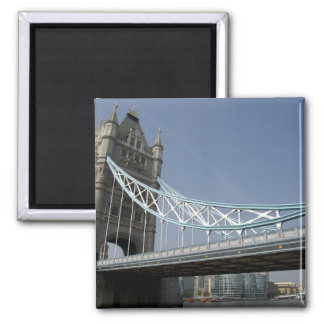 Europe, England, London. Tower Bridge over the 2 Magnet