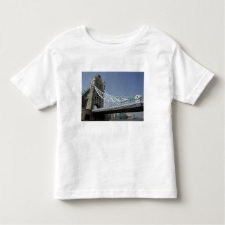 Europe, England, London. Tower Bridge over the 2 T Shirt