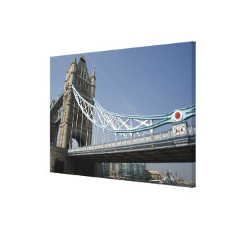 Europe, England, London. Tower Bridge over the Gallery Wrap Canvas
