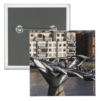 Europe,ENGLAND, London: View of the Millenium 15 Cm Square Badge