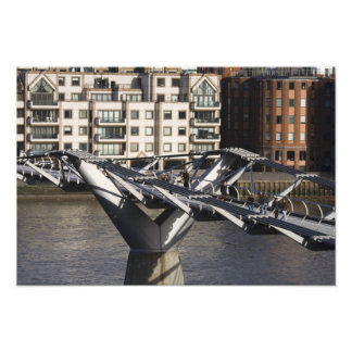 Europe,ENGLAND, London: View of the Millenium Photo Print
