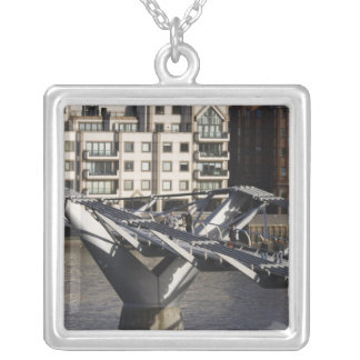 Europe,ENGLAND, London: View of the Millenium Square Pendant Necklace
