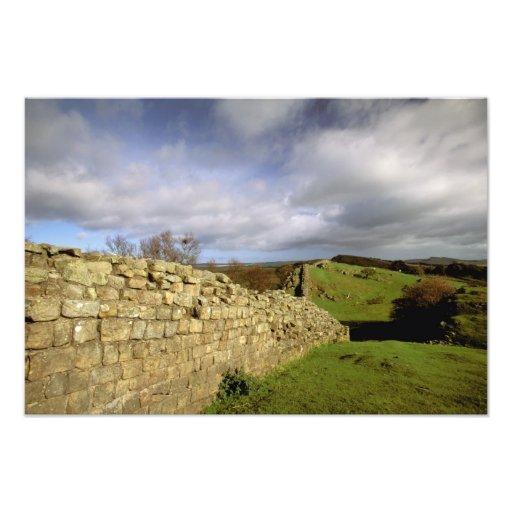 Europe, England, Northumberland. Hadrian's Photo Art