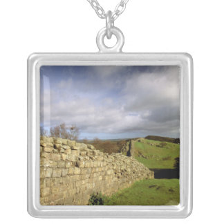 Europe, England, Northumberland. Hadrian's Silver Plated Necklace