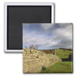 Europe, England, Northumberland. Hadrian's Square Magnet
